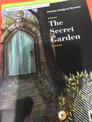 """Libro de inglés """"The secret Garden"""""""