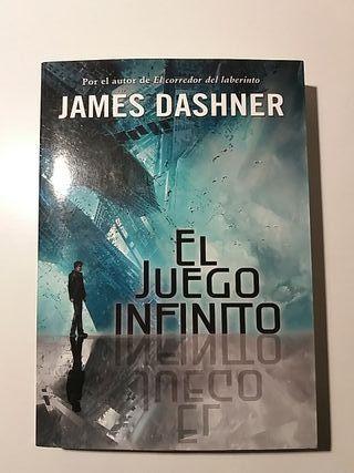 Libro EL JUEGO INFINITO- James Dashner