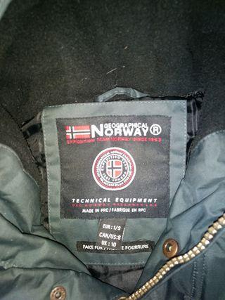 Por 45 Mujer Segunda Norway Mano De Geographical Abrigo 1nTqgPwzx
