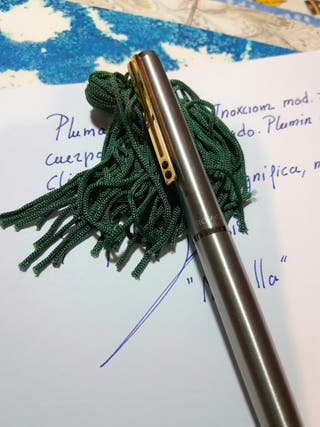 Pluma Inoxcrom 77 modelo Flighter