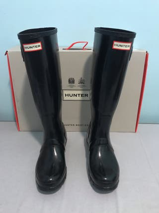 Botas Hunter Tall Gloss talla 38