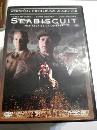 SEABISCUIT MÁS ALLÁ DE LA LEYENDA - DVD - PELÍCULA