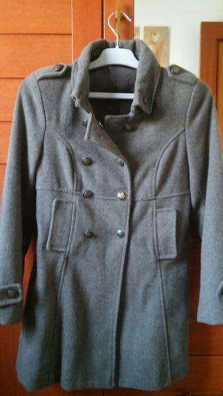 abrigo de paño talla 9-10 años