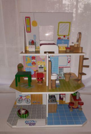 Casa de muñecas Amanda Imaginarium