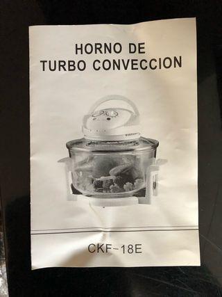 Horno de turbo convección