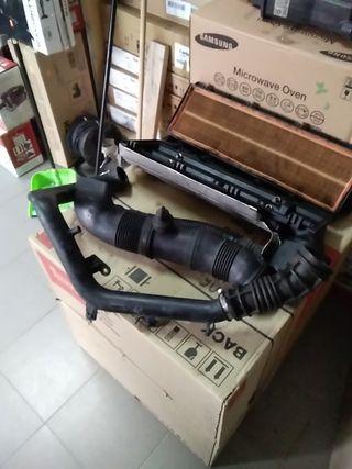 Caja filtro de Aire+Caudalimetro+Tubo de aire BMW