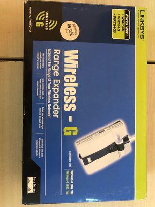 Repetidor Wireless Linksys WRE54G