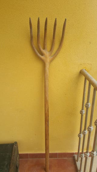 Forca de madera Antigua