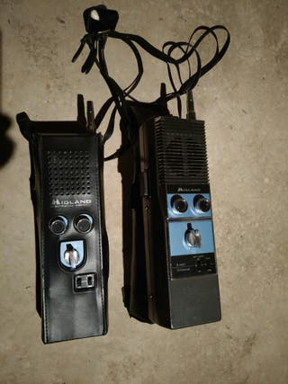 pareja de walkies antiguos