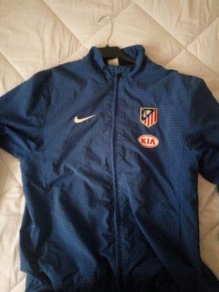 chaqueta chándal atleti