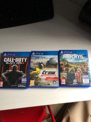 Varios juegos