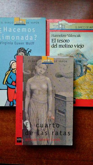 Libros El Barco de Vapor. Serie Roja