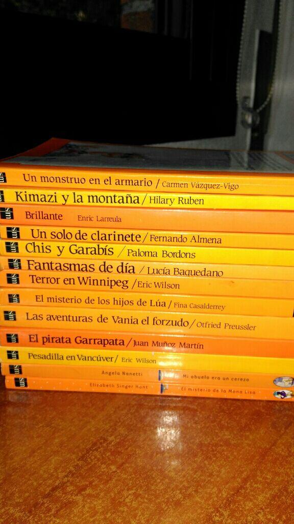Libros El barco de Vapor. Serie Naranja