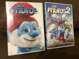 Dvd los pitufos