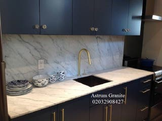 Buy Best Statuarietto Marble Kitchen Worktop in UK