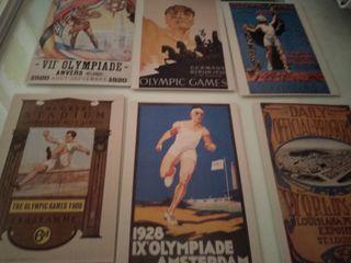Postales Olimpiadas