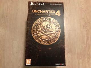 Uncharted 4 Edición Libertalia PS4