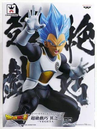 Db Heroes DXF Dios Vegeta Super Saiyan Blue.