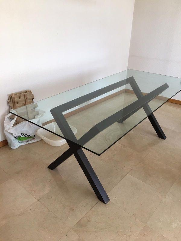 Mesa comedor de diseño Habitat de segunda mano por 150 € en ...