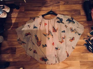 Medium Sized Butterfly Blouse