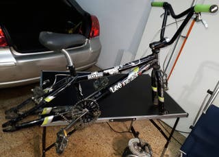 Bicicleta BMX Monty 7005 Aluminium Head Teated