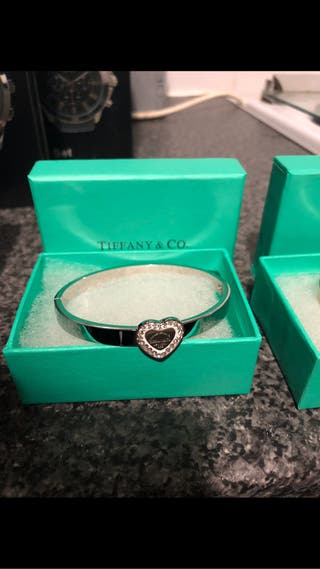 Tiffany Bangles and matching earrings