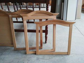Marco espejo madera sin barnizar