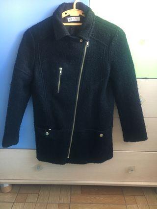 Abrigo de vestir negro niña de H&M