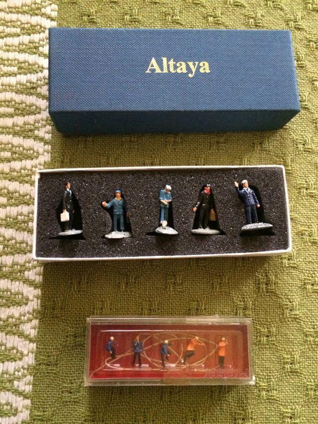 Figura para maqueta Altaya y Preiser