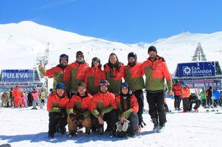 Clases de esqui y snowboard Sierra Nevada