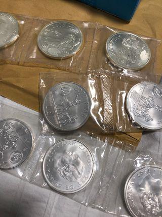 Moneda plata conmemorativa 1997