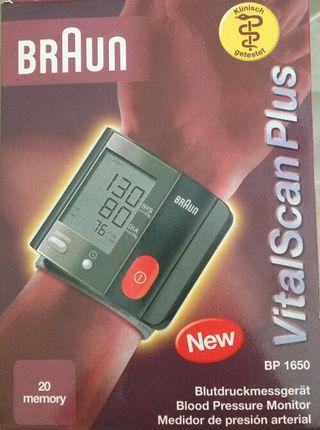 Medidor de presión arterial BRAUN