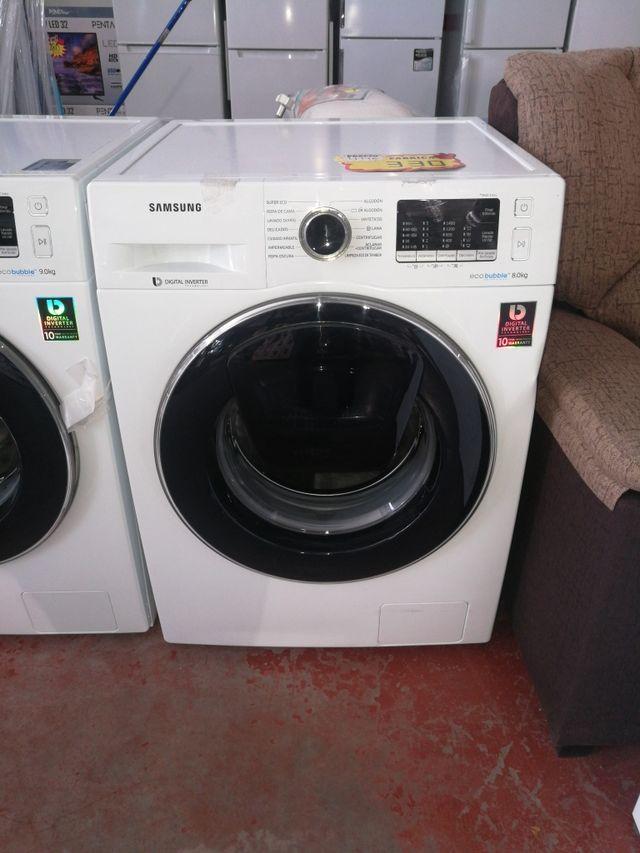 lavadora Samsung tara