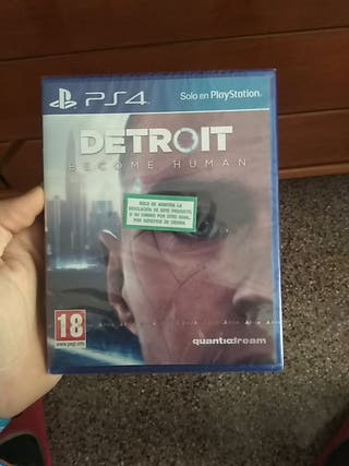 juego detroit become human ps4