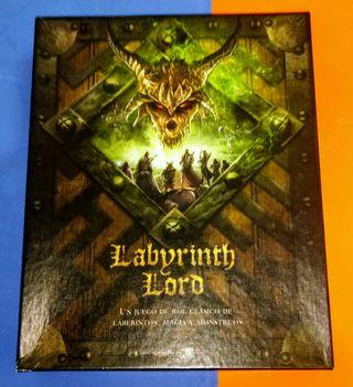 "Juego de rol ""Labyrinth Lord"" castellano"