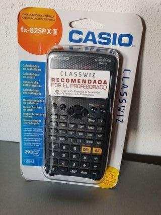 Calculadora científica fx-82SP XII