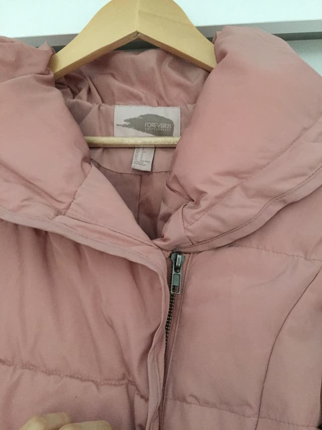 Forever21 rose lightweight jacket