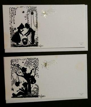 Lote 2 postales Ferrándiz