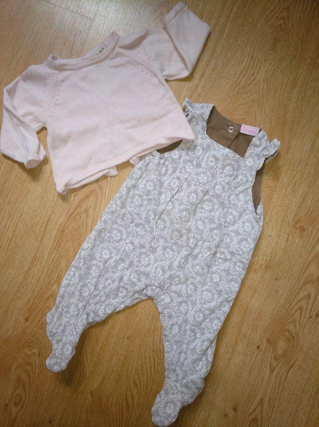 8f50c993d Conjunto 1-3 meses niña de segunda mano por 3 € en Burgos en WALLAPOP