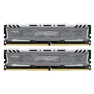 Ballistix Sport LT Gray 16GB Kit (2 x 8GB) DDR4-24