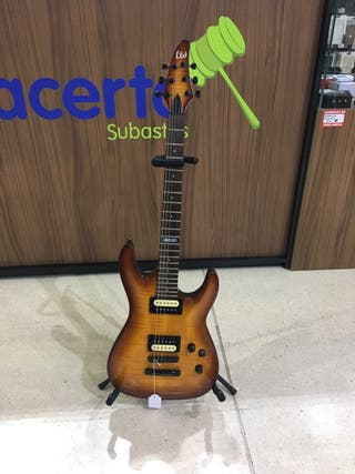 Guitarra eléctrica LTD H-100FM