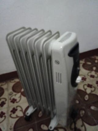 radiador de aceite Orbegozo.