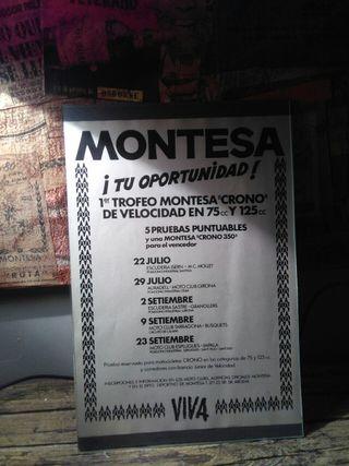 publicidad Montesa crono