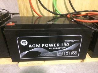 Baterias de Gel 190 A
