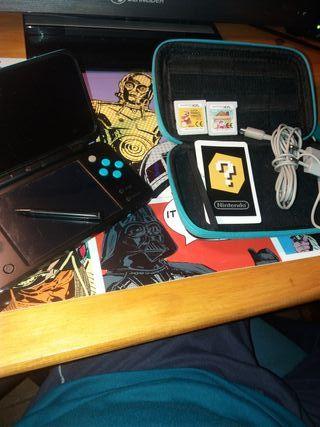 Nintendo 2ds XL azul/negro
