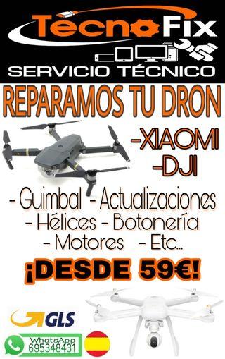 REPARAMOS TU DRON desde 59€
