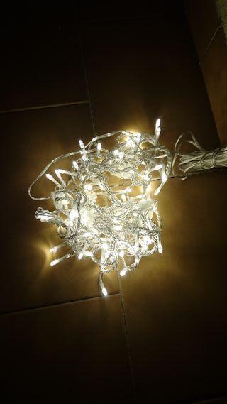 Cortina de guirnaldas LED