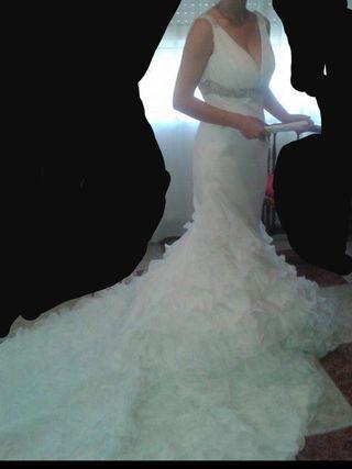 vestido de novia de segunda mano en alcázar de san juan en wallapop