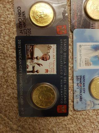 colección 50c vaticano euros