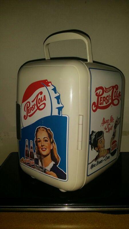 Míni Nevera portátil Pepsi edición vintage